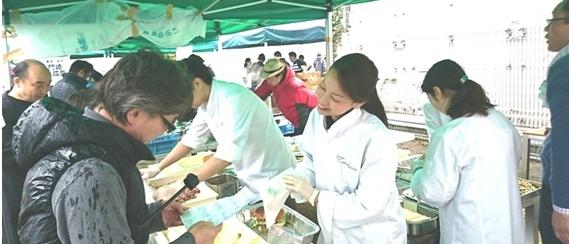 東京食文研 地方生産者BBQ in 都会の農園バーベキューテラス