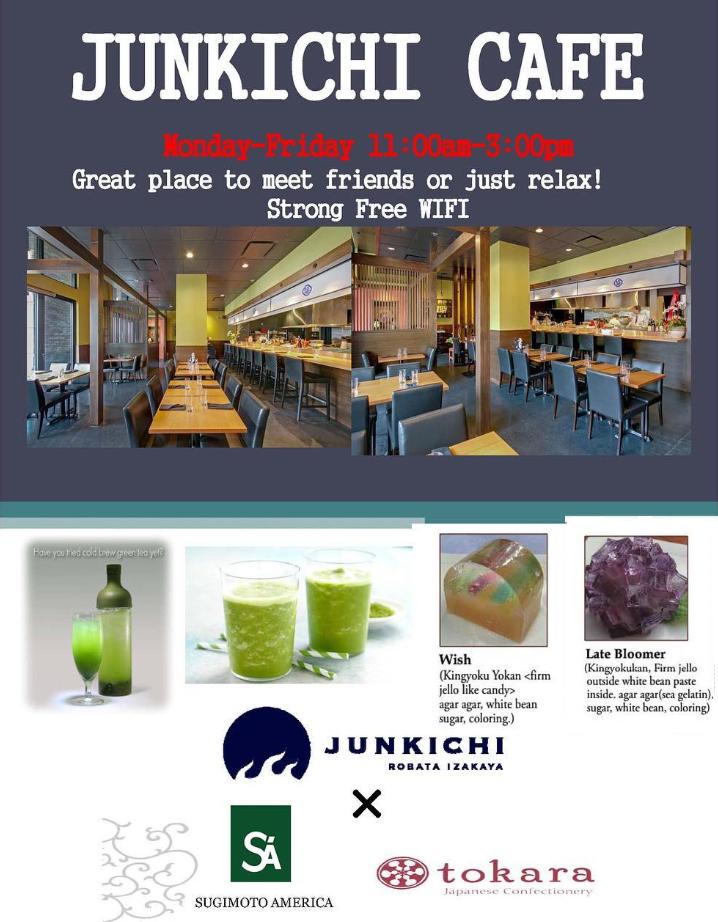 JUNKICHI MATCHA CAFE♪