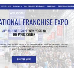 International Franchise Expo in NY